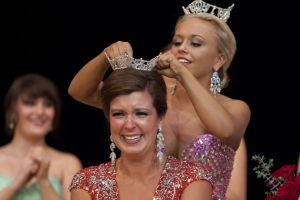 Katelyn Mlujeak - Miss Bay County 2014 crowning